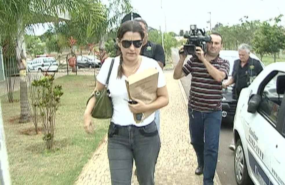 Delegada Martha Vargas, em imagem de arquivo — Foto: TV Globo/Reprodução