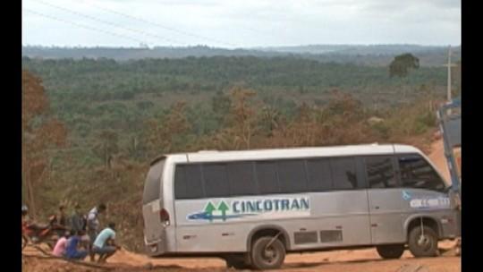 Moradores de Brasil Novo interditam trecho da rodovia Transamazônica, no Pará