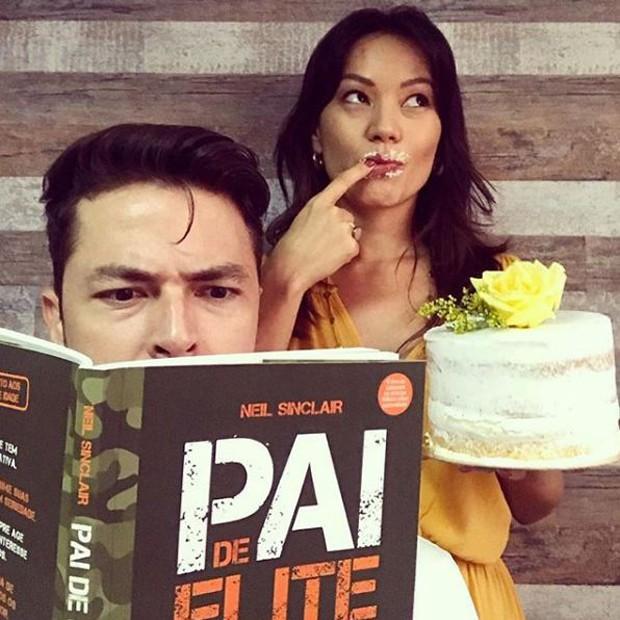 Geovanna Tominaga e Eduardo Duarte (Foto: Reprodução/Instagram)