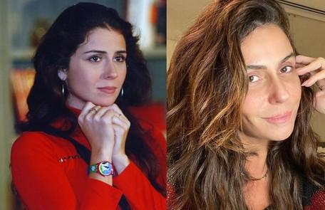 Giovanna Antonelli foi Capitu, uma garota de programa que se apaixonava por Fred (Luigi Baricelli), filho de Helena. A atriz está escalada como uma das protagonistas de 'A morte pode esperar', próxima novela das 19h TV Globo / Reprodução