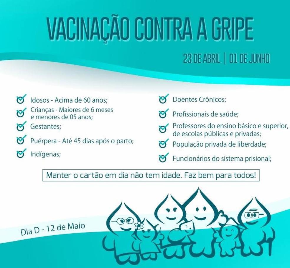 Campanha de vacinação em Serra Talhada (Foto: Assessoria/Divulgação)