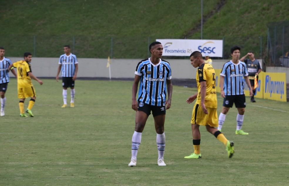 Da Silva tem quatro gols na competição — Foto: Lucas Bubols/GloboEsporte.com