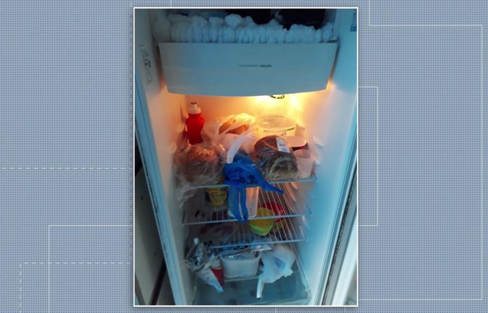 Conselho Tutelar interdita creche após encontrar alimentos vencidos e lixo acumulado, em Ponta Grossa — Foto: Reprodução/RPC