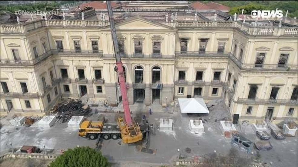 Museu Nacional  — Foto: GloboNews
