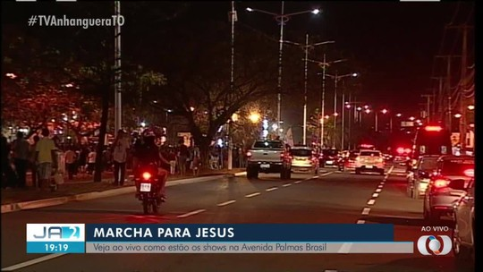 Marcha para Jesus é realizada neste sábado (21) em Palmas
