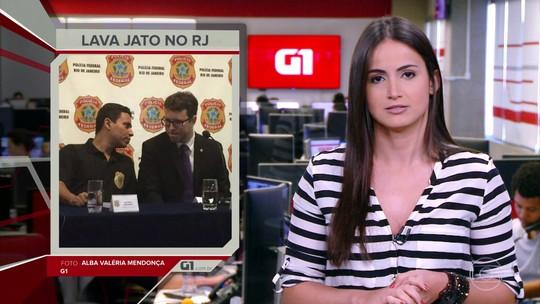G1 em 1 Minuto: MP vai prorrogar por mais seis meses a Força-Tarefa da Lava jato no Rio