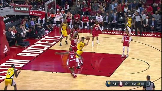 Com 44 pontos do Barba, Rockets derrotam Pacers e alcançam sexta vitória consecutiva
