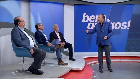 """Galvão brinca com discussão entre Bodão e Mano e diz que técnico foi vítima de """"safadeza"""" na Seleção"""