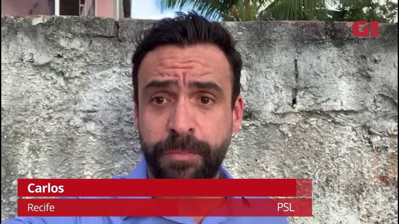 Carlos (PSL) fala sobre proposta para retomada segura das aulas no Recife