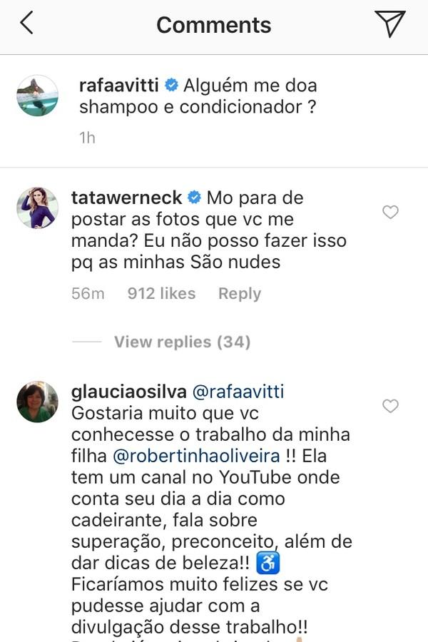 Rafael Vitti e Tatá Weneck (Foto: Reprodução Instagram)