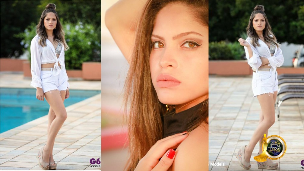 Miss Teen Terra Minas Gerais - Chayene Marques - Três Pontas — Foto: Miss Teen Terra Minas Gerais