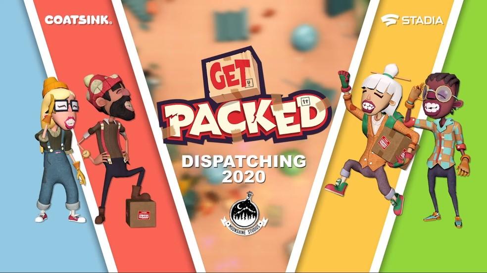 Get Packed é um jogo cooperativo cujo objetivo é provocar o caos ao se desfazer de objetos. — Foto: Divulgação/Google