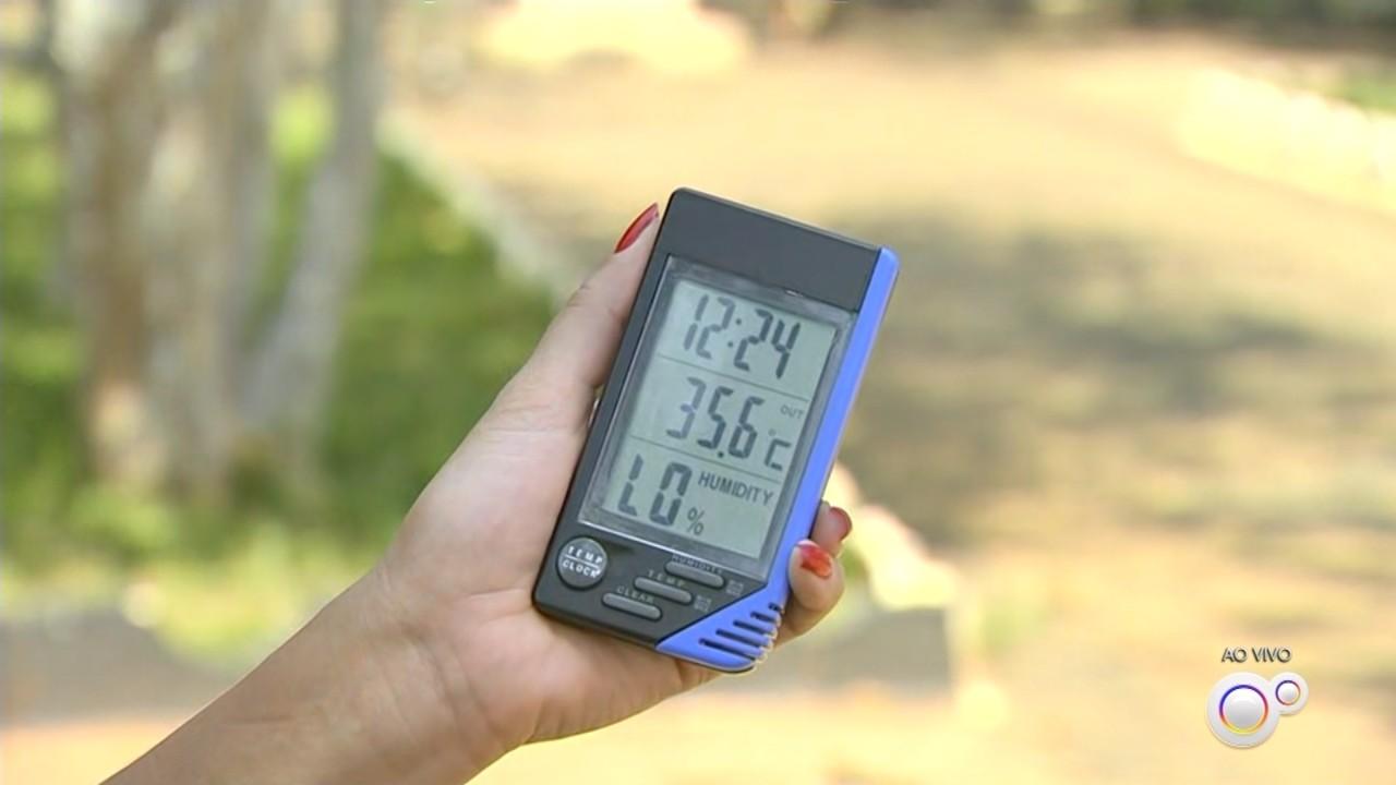 Temperatura deve aumentar em cidades da região até sábado