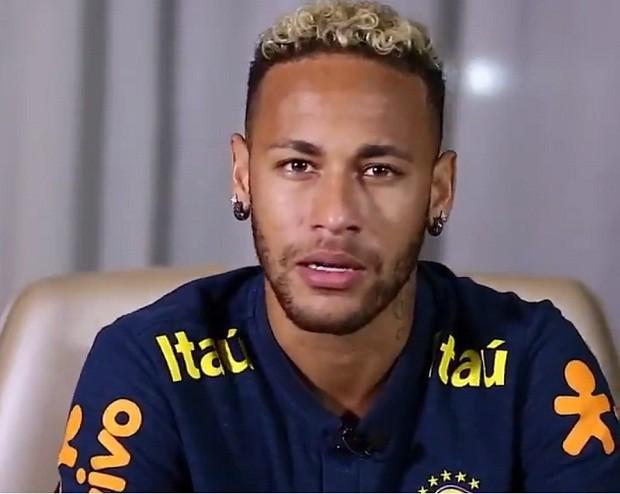 Neymar agradece carinho de torcedor mexicano que perdeu a família (Foto: Reprodução/Twitter)