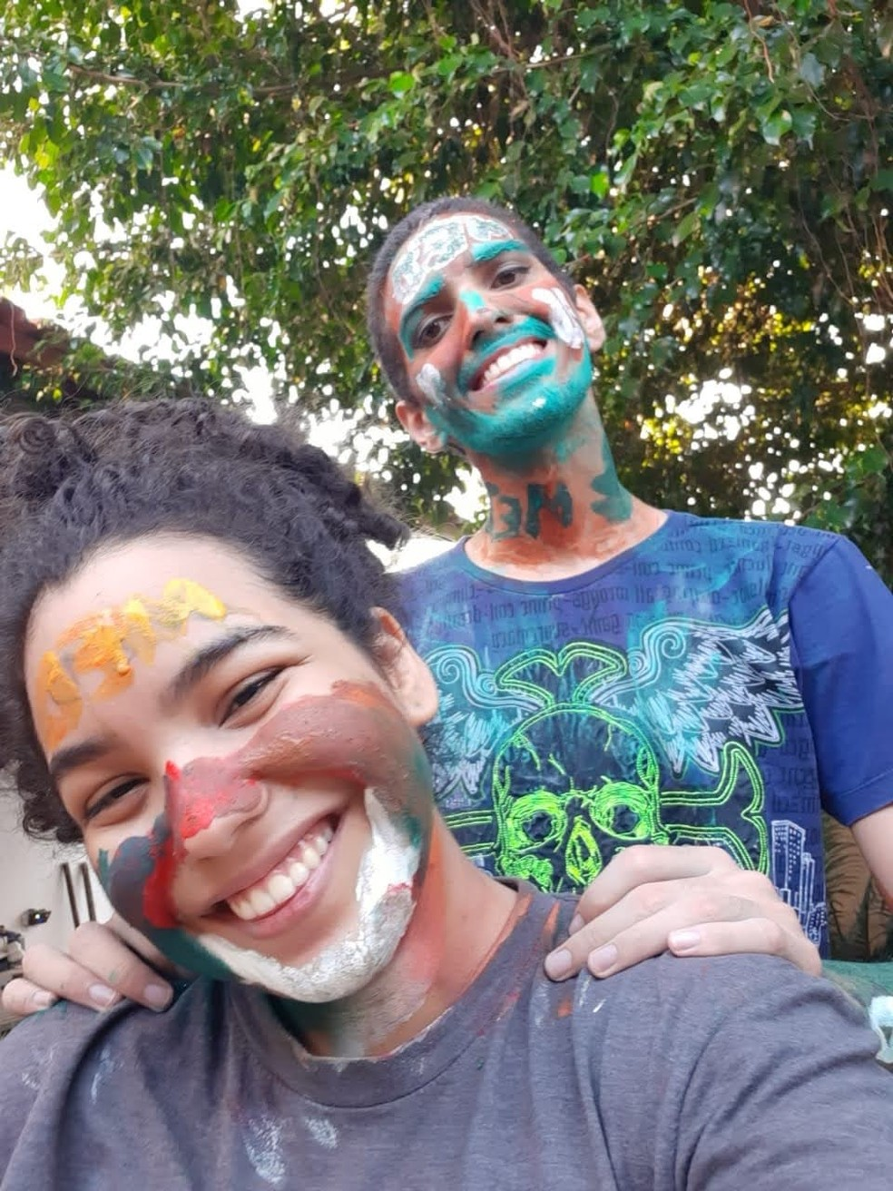 Camila e Lucas dividem rotina de estudos mesmo após passarem em medicina  — Foto: Arquivo pessoal