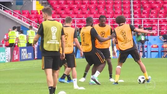 Bélgica não quer ter surpresas em jogo contra a Tunísia