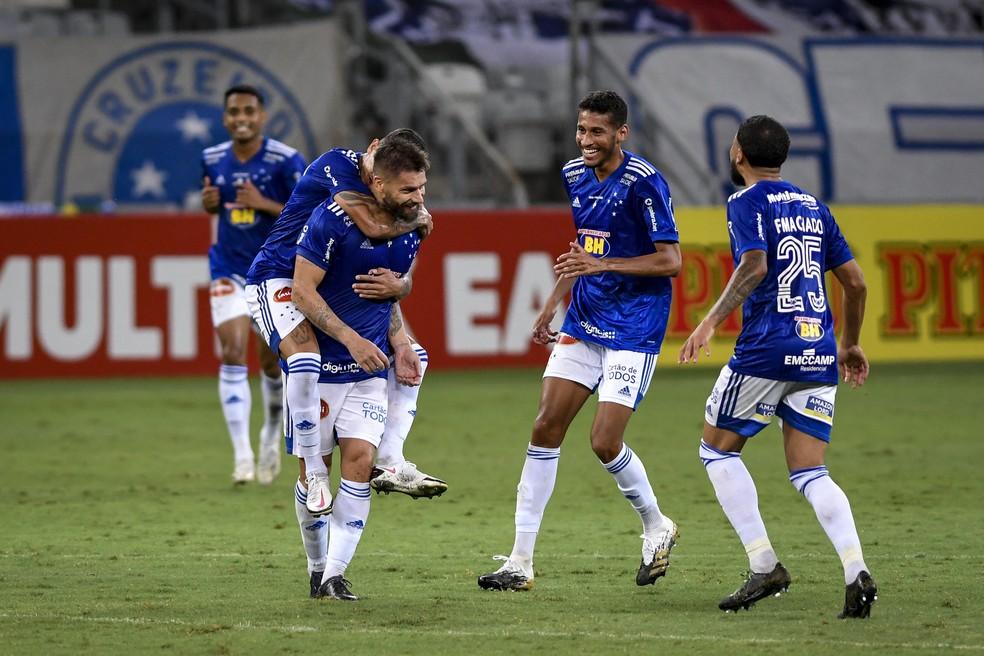 Cruzeiro x Brasil de Pelotas — Foto: Agência i7/ Mineirão