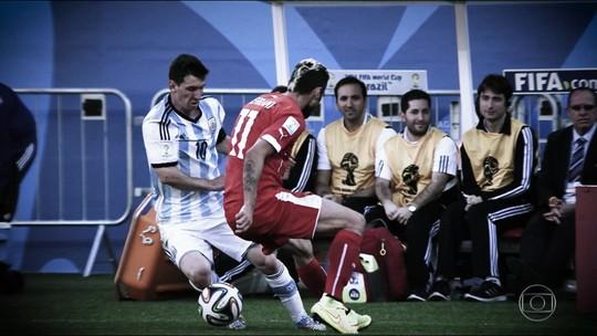"""Rivais da América: """"dona da bola"""", Argentina chega ao Brasil apostando em Lionel Messi"""
