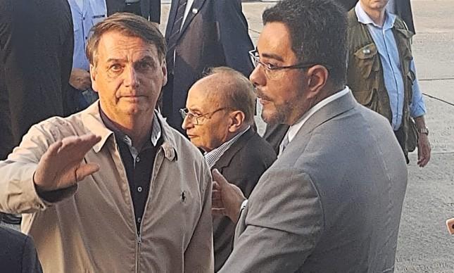 Jair Bolsonaro e Marcelo Bretas
