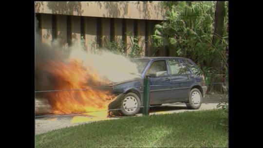 Reportagem de 1996 mostra incêndio espontâneo com o Fiat Tipo