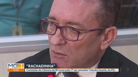 Vereador de Belo Horizonte Cláudio Duarte (PSL) presta depoimento sobre denúncia de 'rachadinha' e nega acusações