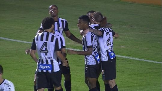 Os gols de Ponte Preta 1 x 2 Santos pela 3ª rodada do Paulistão 2018