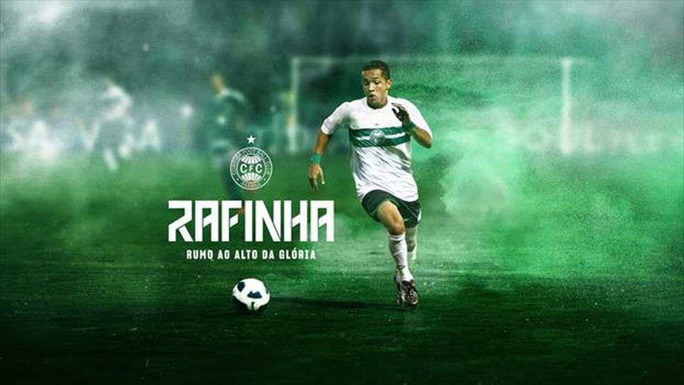 Coritiba confirmou através do seu site oficial e inicia campanha de marketing para seu retorno — Foto: Divulgação/Coritiba