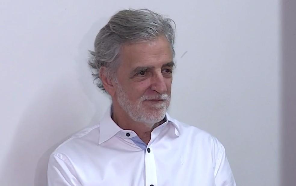 João Batista Mares Guia é candidato da Rede ao governo de Minas Gerais (Foto: Reprodução/TV Globo)