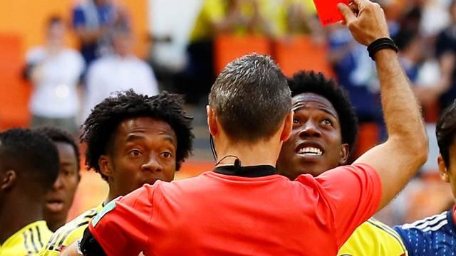 Cartão vermelho Sánchez