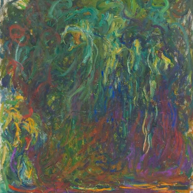Saule pleureur, de Monet (Foto: Divulgação)