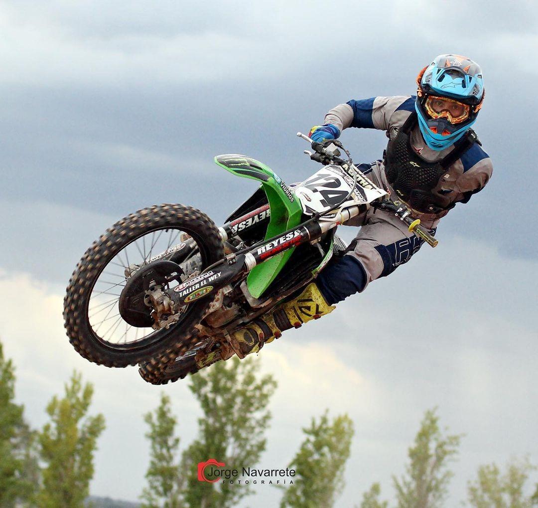 Piloto de motocross argentino Alberto 'Wei' Sabada (Foto: Reproducción de Instagram)