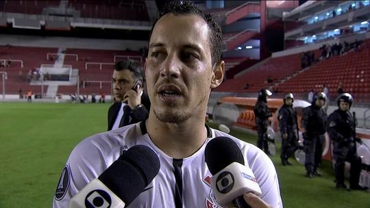 Rodriguinho comemora vitória do Corinthians e fala sobre sondagens do Flamengo