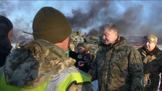 Ucrânia pede ajuda à OTAN diante do temor de uma invasão da Rússia