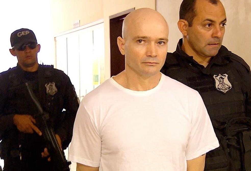 Alexandre Furtado Paes está preso em Natal (Foto: Inter TV Cabugi/Reprodução)