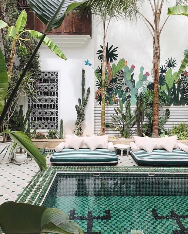 Roteiro de viagem: onde se hospedar em Marrakech - le riad jasmine (Foto: Reprodução)