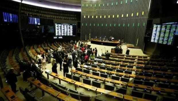 Plenário da Câmara: deputados entram em recesso em 17 de julho e voltam em 1º de agosto (Foto: AGÊNCIA CÂMARA DOS DEPUTADOS)