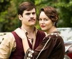 Nicolas Prattes e Joana de Verona são Alfredo e Adelaide em 'Éramos seis' | TV Globo