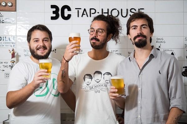 Eduardo Diehl, João Gabriel Reis e João Filipe Rocha são os fundadores da marca