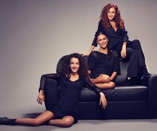 Gorete Milagres com as filhas, Alice e Maria | Márcio Rodrigues