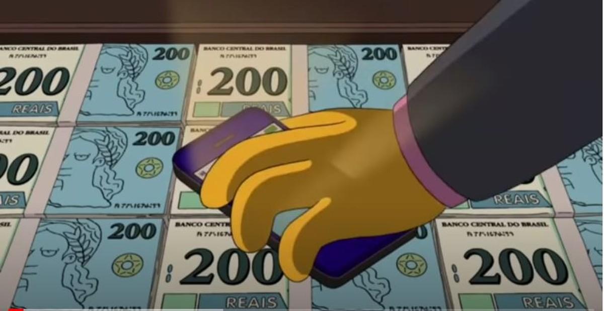 Simpsons 'previu' nota de R$ 200 em episódio de 2014   Pop & Arte