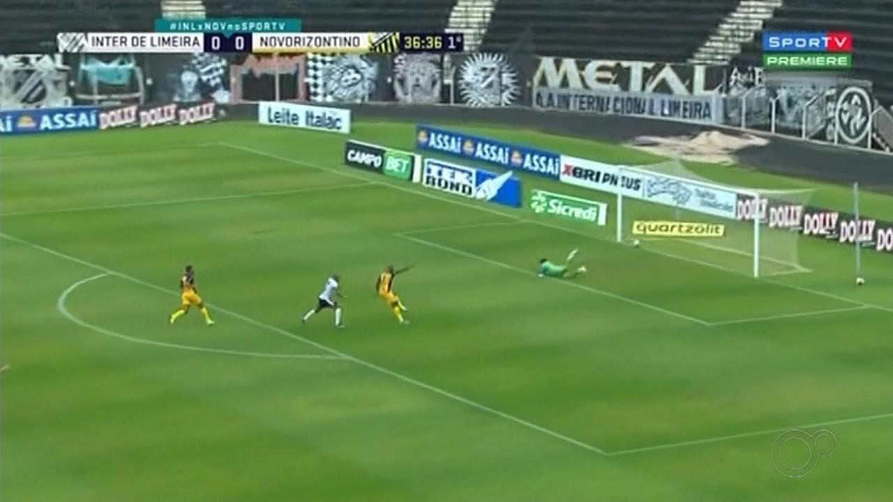 Novorizontino perde para o Inter de Limeira pelo Paulistão