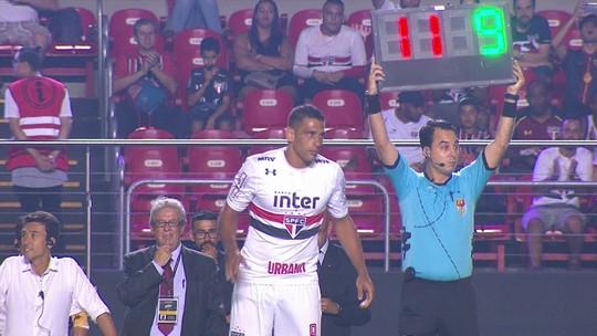 Diego Souza entende cobrança do torcedor do São Paulo e diz que só jogando vai ganhar ritmo