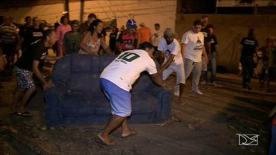 Moradores em São Luís liberam rua onde funciona unidade da Funac