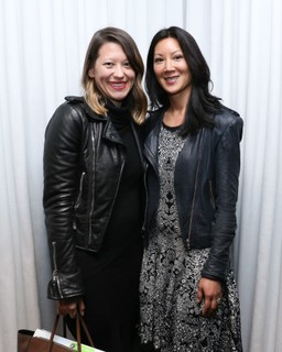 Kym Hyde e Betty Wang