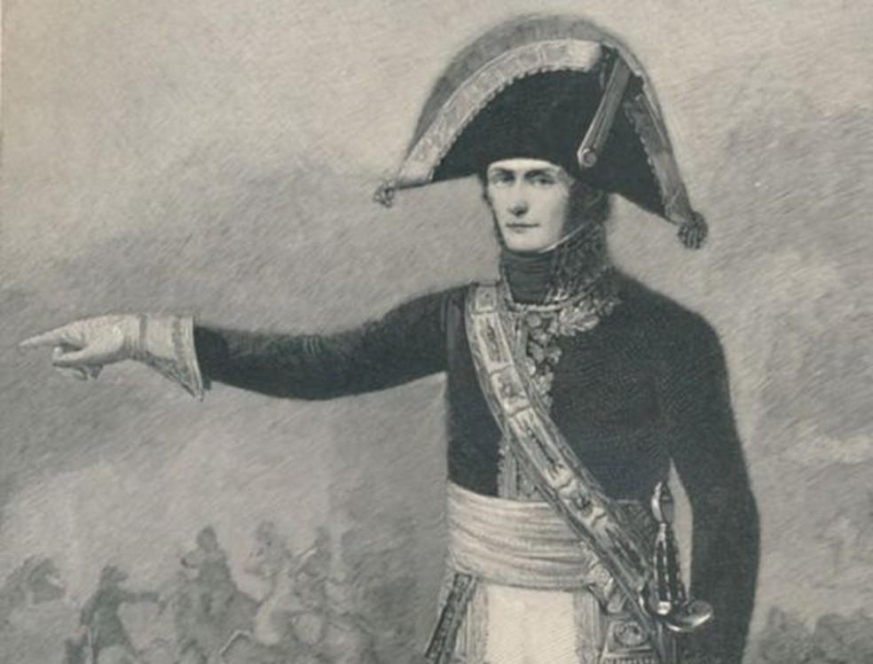 O general Leclerc, cunhado de Bonaparte — Foto: Getty Images/BBC
