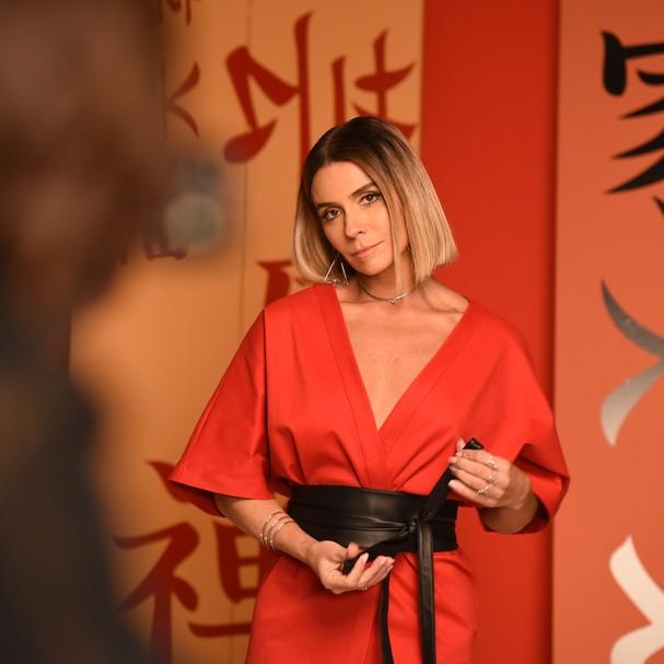 Giovanna Antonelli clica campanha em intervalo das gravações (Foto: reprodução/Instagram)