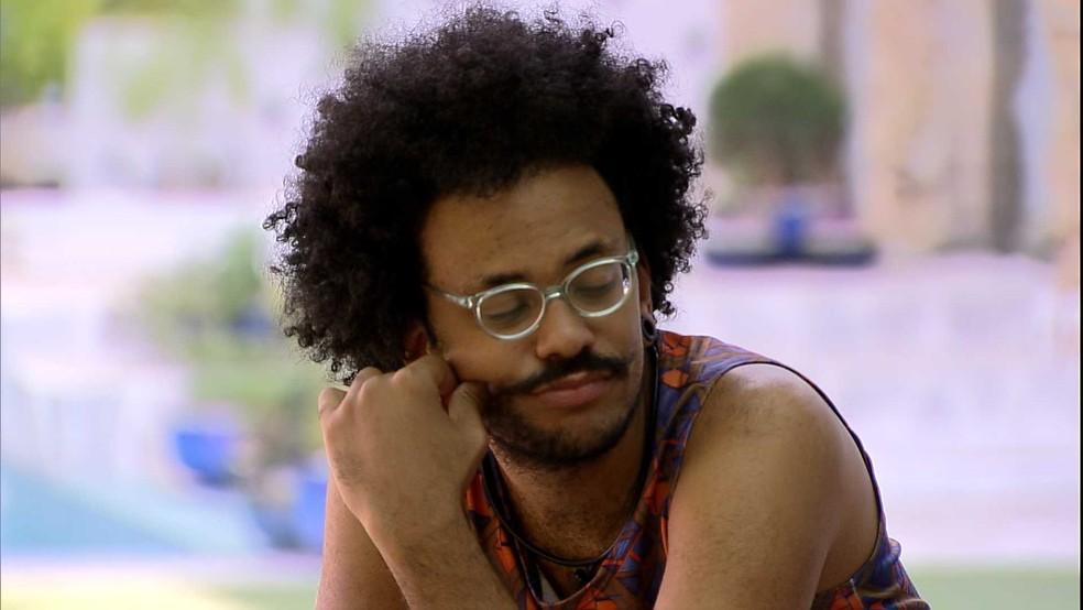No BBB21, João Luiz dispara para Juliette: 'Achei desnecessário' — Foto: Globo