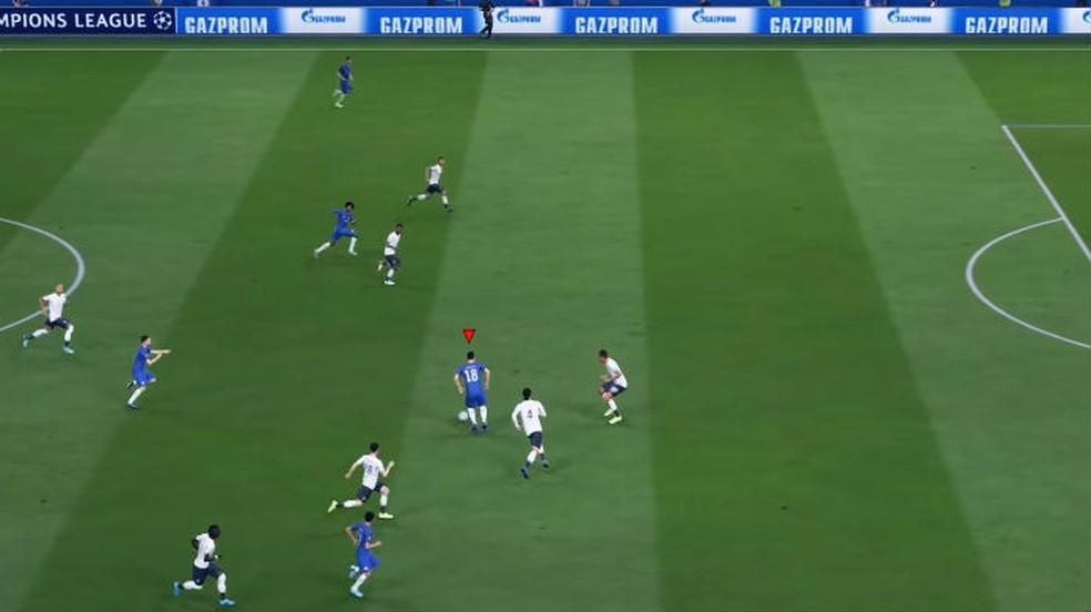FIFA 20: faça seu time jogar bem junto para passar bastante a bola em estilo tiki-taka — Foto: Reprodução / Thomas Schulze