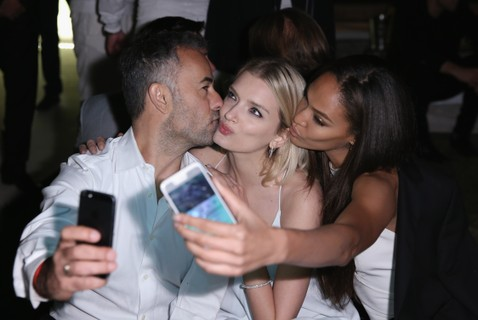 Francisco Costa, Lily Donaldson e Joan Smalls