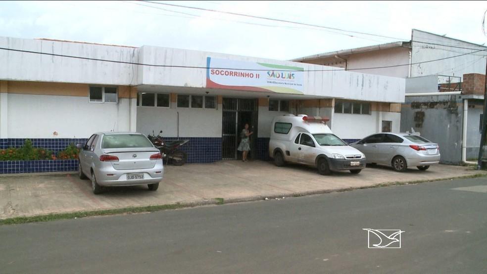 Unidade de Pronto-Atendimento Socorrinho II, no bairro São Francisco, em São Luís. — Foto: Reprodução/TV Mirante